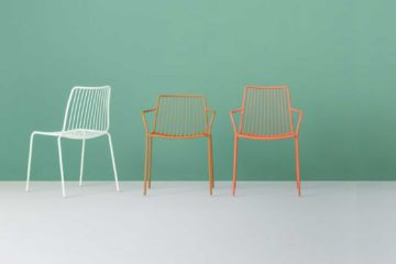 Chaises de jardin et de terrasse Nolita par Pedrali