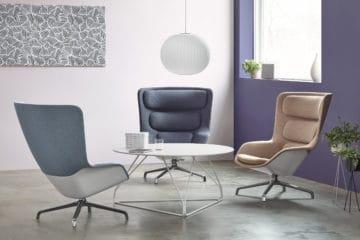 Fauteuil de salon Striad, un fauteuil lounge design et haut de gamme.