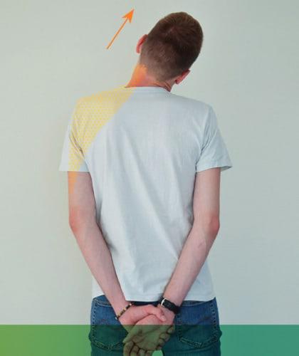 Mal de dos - Étirement latéral du cou